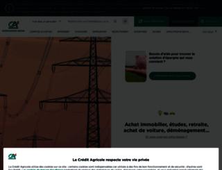 ca-normandie-seine.fr screenshot