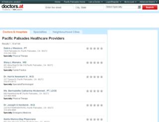 ca-pacific-palisades.doctors.at screenshot