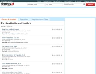 ca-pacoima.doctors.at screenshot
