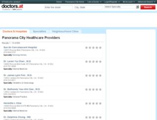ca-panorama-city.doctors.at screenshot