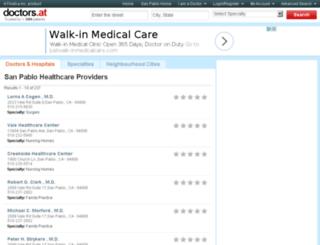 ca-san-pablo.doctors.at screenshot