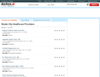 ca-studio-city.doctors.at screenshot