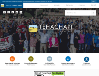 ca-tehachapi2.civicplus.com screenshot