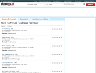 ca-west-hollywood.doctors.at screenshot