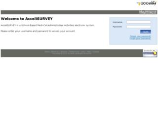 ca.accelisurvey.com screenshot