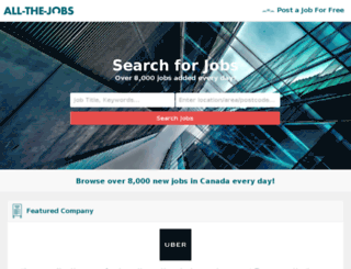 ca.all-the-jobs.com screenshot