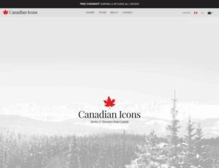 ca.canadianicons.ca screenshot