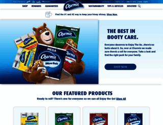 ca.charmin.com screenshot