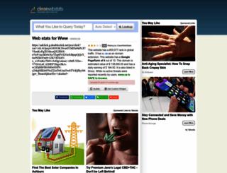 ca.clearwebstats.com screenshot
