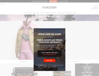 ca.forzieri.com screenshot