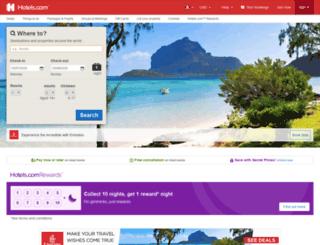 ca.hotels.com screenshot