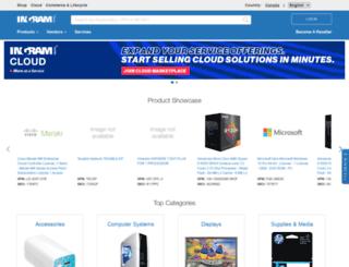 ca.ingrammicro.com screenshot