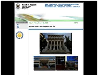 ca.judiciary.gov.ph screenshot
