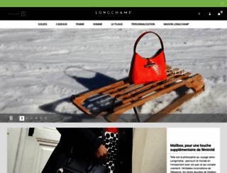 ca.longchamp.com screenshot