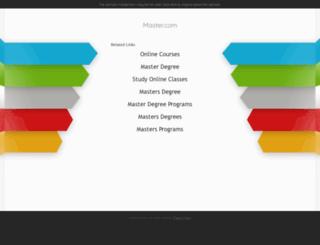 ca.master.com screenshot