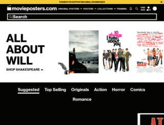 ca.movieposter.com screenshot