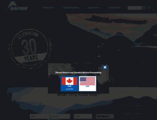 ca.napieroutdoors.com screenshot