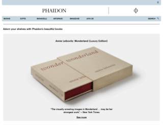 ca.phaidon.com screenshot