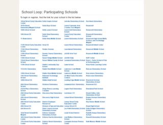ca.schoolloop.com screenshot