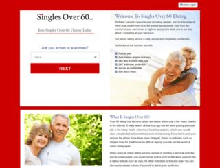 ca.singlesover60.net screenshot