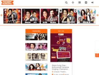 ca.tickethungama.com screenshot