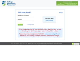 caa.launchpadadvantage.com screenshot