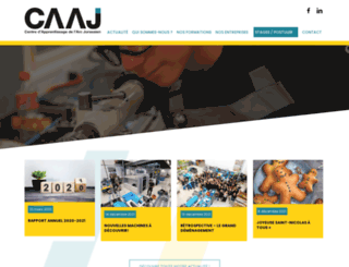 caaj.info screenshot