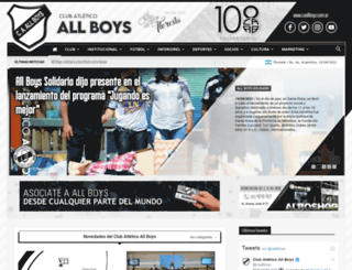 caallboys.com.ar screenshot
