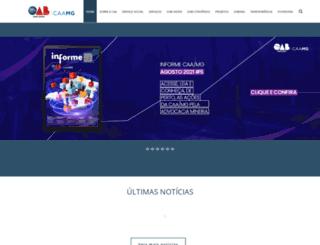 caamg.com.br screenshot