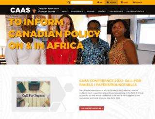 caas-acea.org screenshot