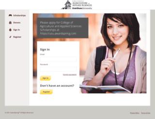 caas.awardspring.com screenshot