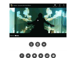cabadzi.fr screenshot