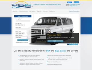 cabaja.com screenshot