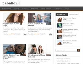 caballovil.in screenshot