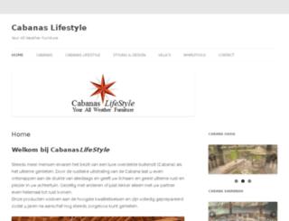 cabanaslifestyle.com screenshot