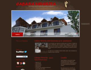 cabanaveverita.ro screenshot