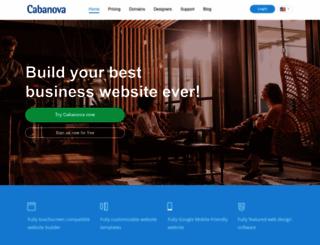 cabanova.com screenshot