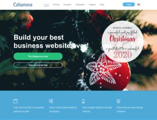 cabanova.net screenshot