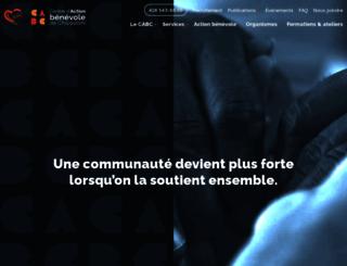 cabchicoutimi.com screenshot