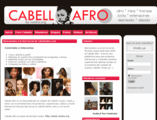cabello-afro.com screenshot