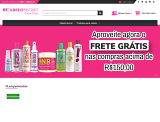 cabelostore.com.br screenshot