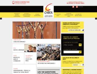 cabex-conseil.fr screenshot