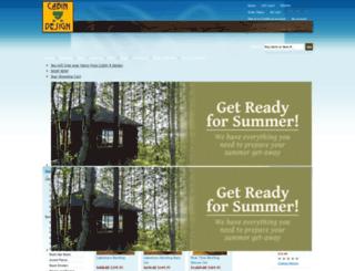 cabin9design.net screenshot