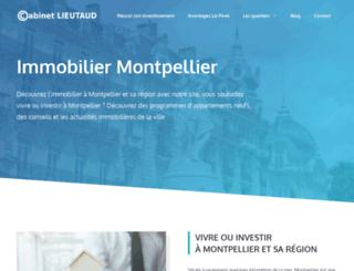 cabinet-lieutaud.fr screenshot