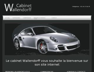cabinet-wallendorff.fr screenshot
