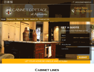 cabinetcottage.net screenshot