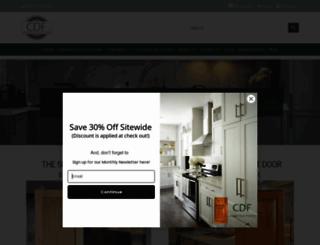 cabinetdoorfactory.com screenshot