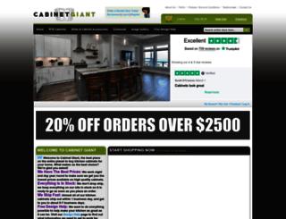 cabinetgiant.com screenshot