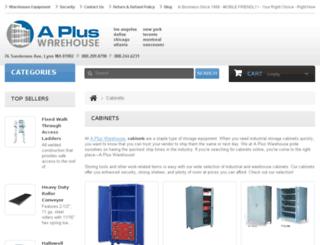 cabinets.apluswhs.com screenshot