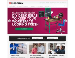 cabinets.rustoleumtransformations.com screenshot